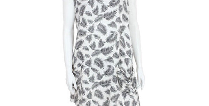 Feather Pocket Dress