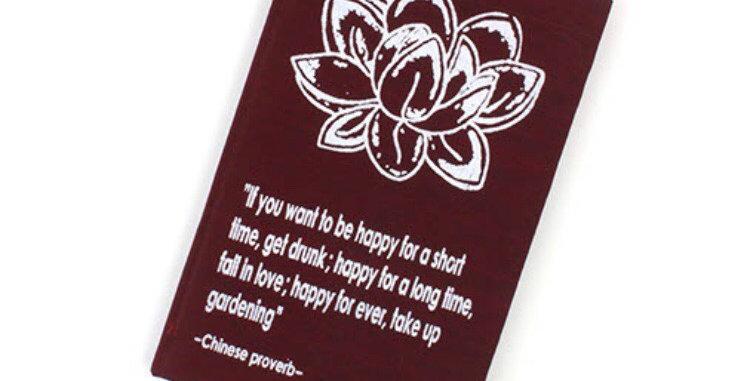 Garden Proverb Affirmation Notebook