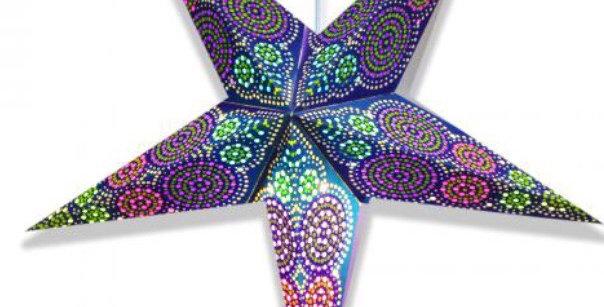 Chameleon Blue Star Lantern