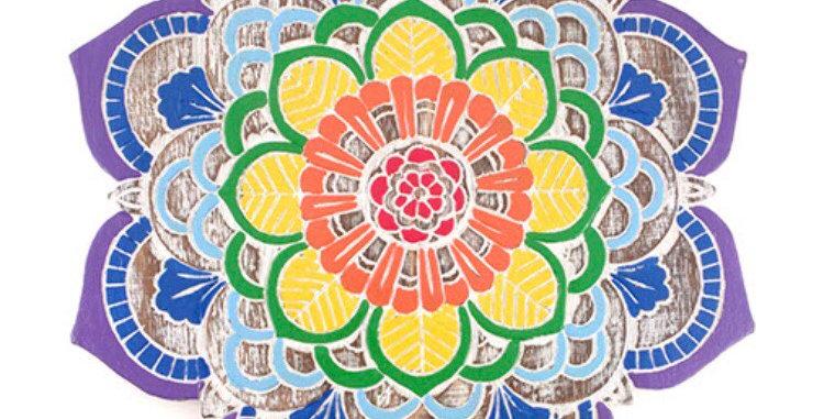 Colourful Mandala Plaque
