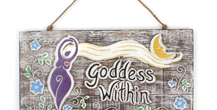 Goddess Within Plaque