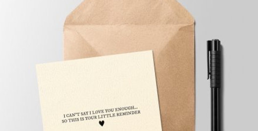 Your Little Reminder Greeting Card
