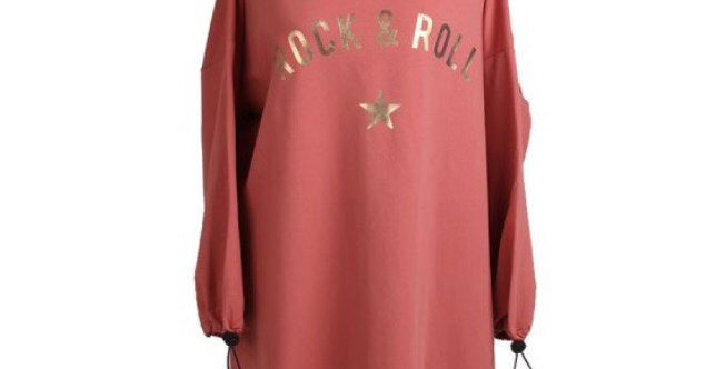 Sugar Poppy Rock & Roll Sweater Dress
