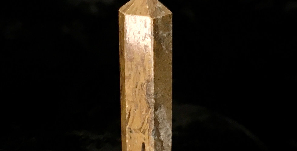 Mini Elephant Skin Jasper Pencil Tower