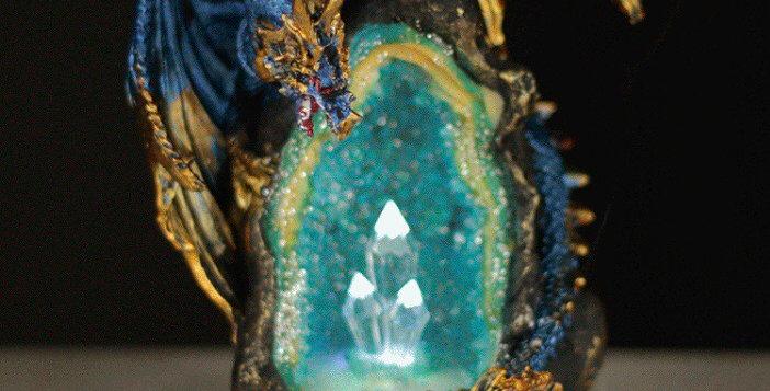 Crystal Cave Dragon Backflow Burner