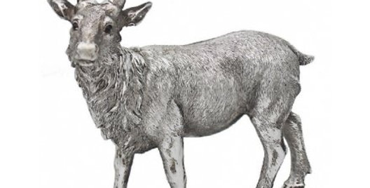 Silvered Stag