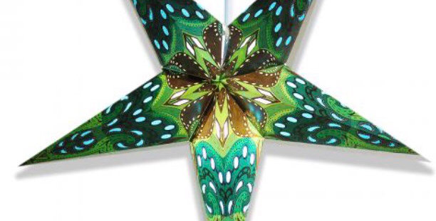 Lizard Green Star Lantern