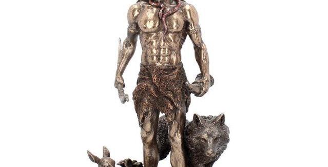Herne & Animals Statue