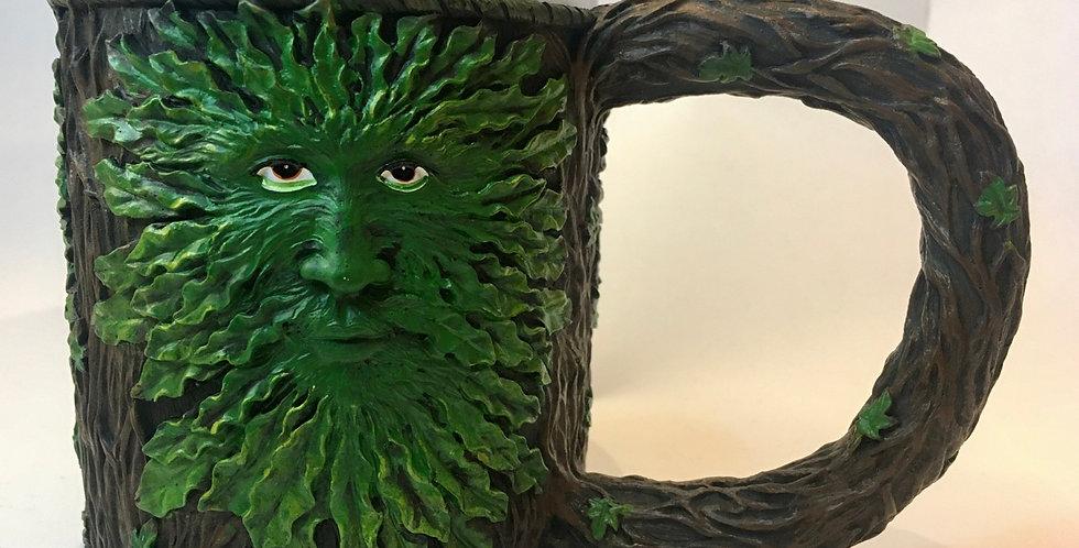 Green Man Tankard