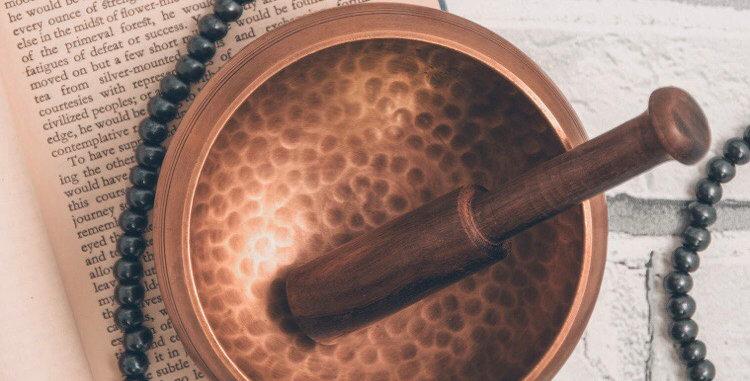 Hand-Beaten Mountain Singing Bowl