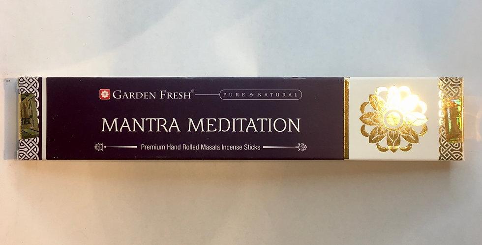 Mantra Meditation Incense