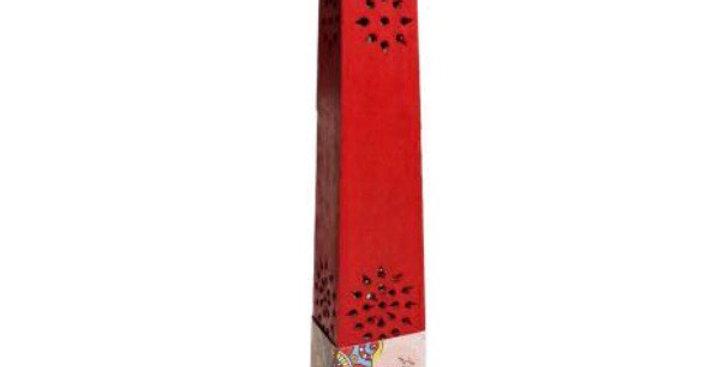 Mango Wood Incense Tower