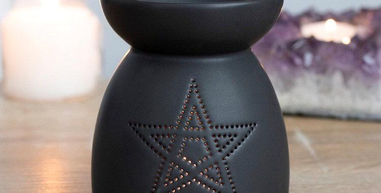 Pentagram oil burner