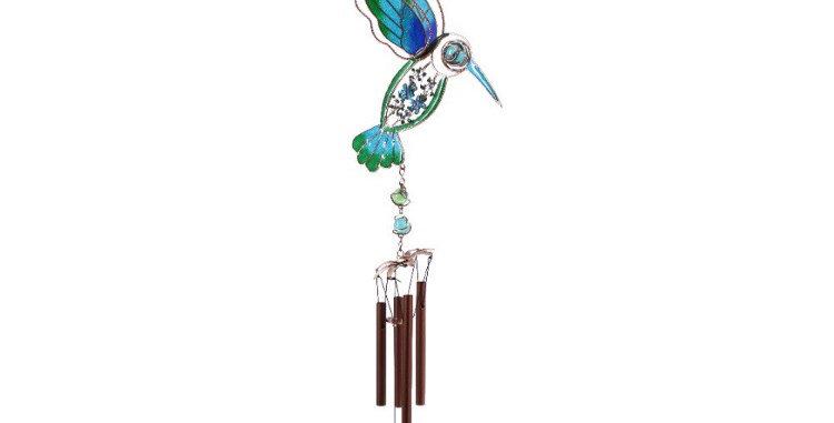 Turquoise Hummingbird Chime