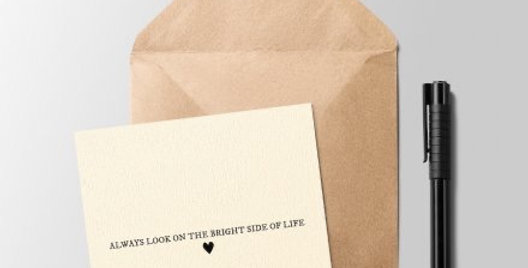 Bright Side of Life Greeting Card