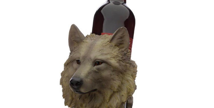 Arctic Wolf Bottle Holder