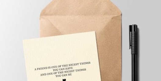 One Of The Nicest Things Greeting Card