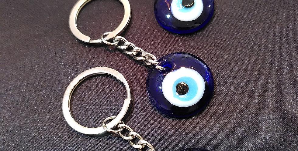 Evil Eye Amulet Keyring