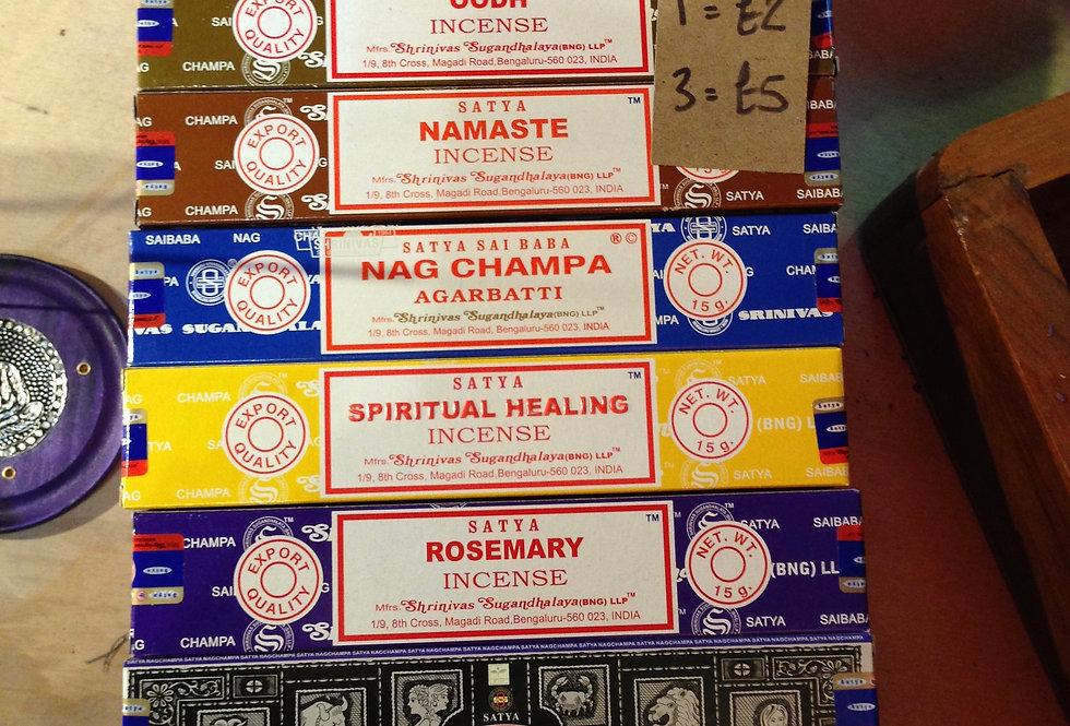 Incense boxes