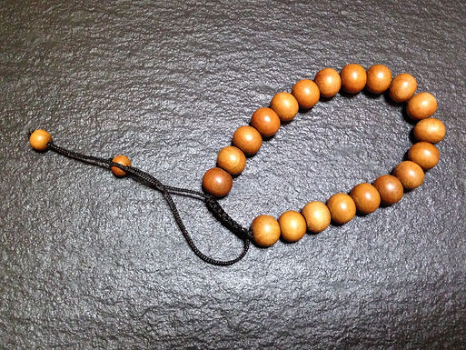 Wooden Bead Bracelets x 2