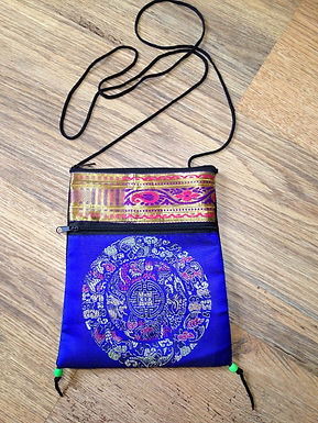 Upcycled Sari String Purse
