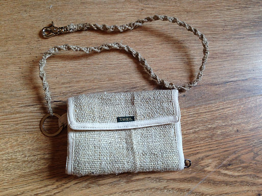 Hemp Natural Wallet