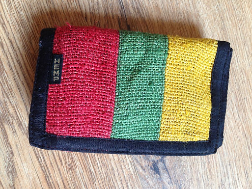 Hemp Wallet - Rasta