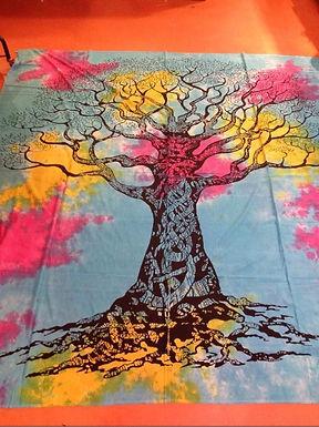 Buddha/Tree/Moon Throws