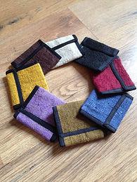 Hemp Wallets - Plain colour