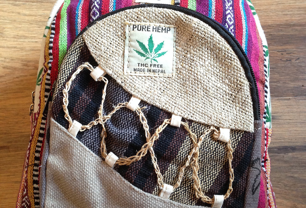 Small Rucksack - Cord front