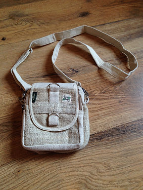 Small Hemp Strap Bag