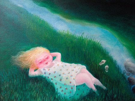 In Green Pastures By The Quiet Water