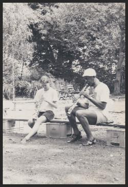Anja en John Tchicai