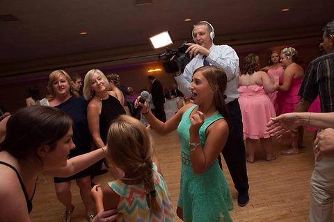 Jay Morris as a wedding videographer