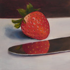 Strawberry and Knife