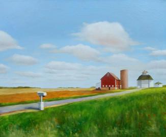 Farm with Mailbox