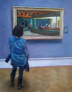 Looking at Hopper's Nighthawks