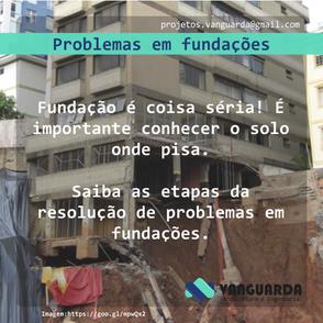 Problemas em fundações
