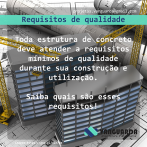 Requisitos de qualidade da estrutura
