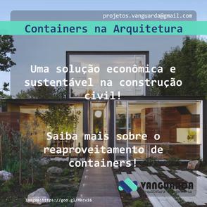 Containers na Arquitetura