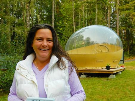 Under The Stars Bubble Tent Adventure