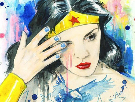 Even Wonder Woman Cries