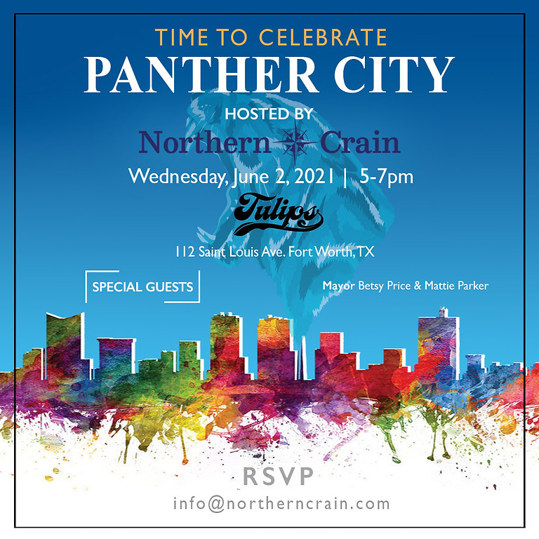 Time To Celebrate Panther City!