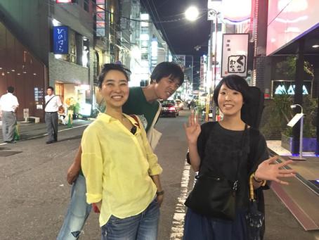 島崎智子、そして雨宮弘哲と広瀬波子