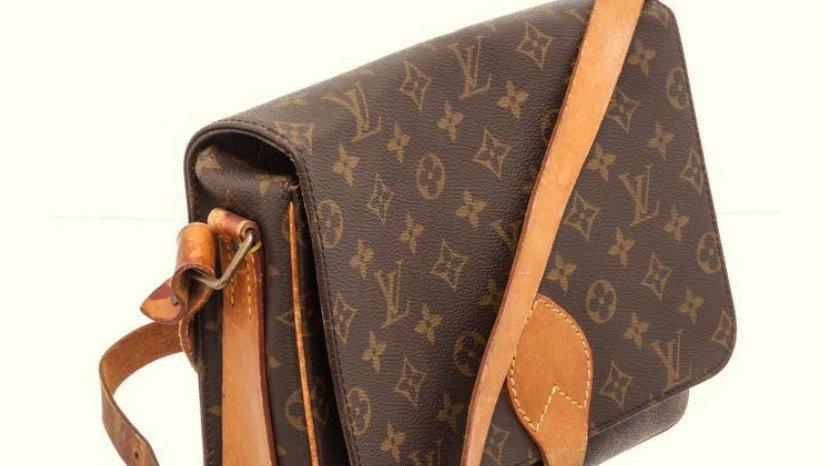 Authentic Pre-Owned Louis Vuitton Cartouchiere Monogram Crossbody Bag