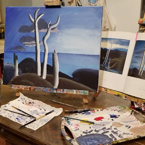 WED Intermediate Drawing & Painting Studio