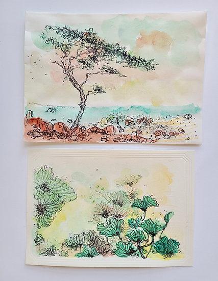 Decorative Card & Envelope