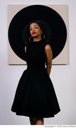 Blackest Little Black Dress on Earth