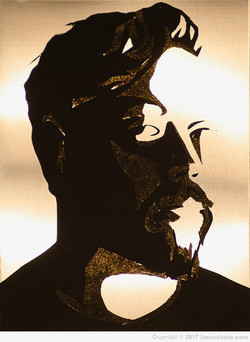 """Self Portrait"" Jason Chase (c) 2017"