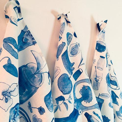 Tea-towel I'm blue dabadeedabada